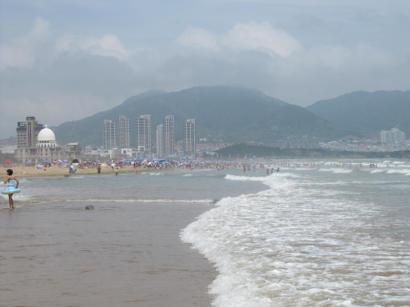 צ'ינדאו - Stone Old Man Beach