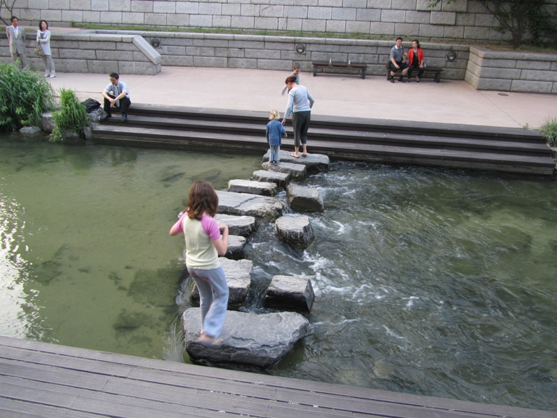 נחל Cheonggyecheon