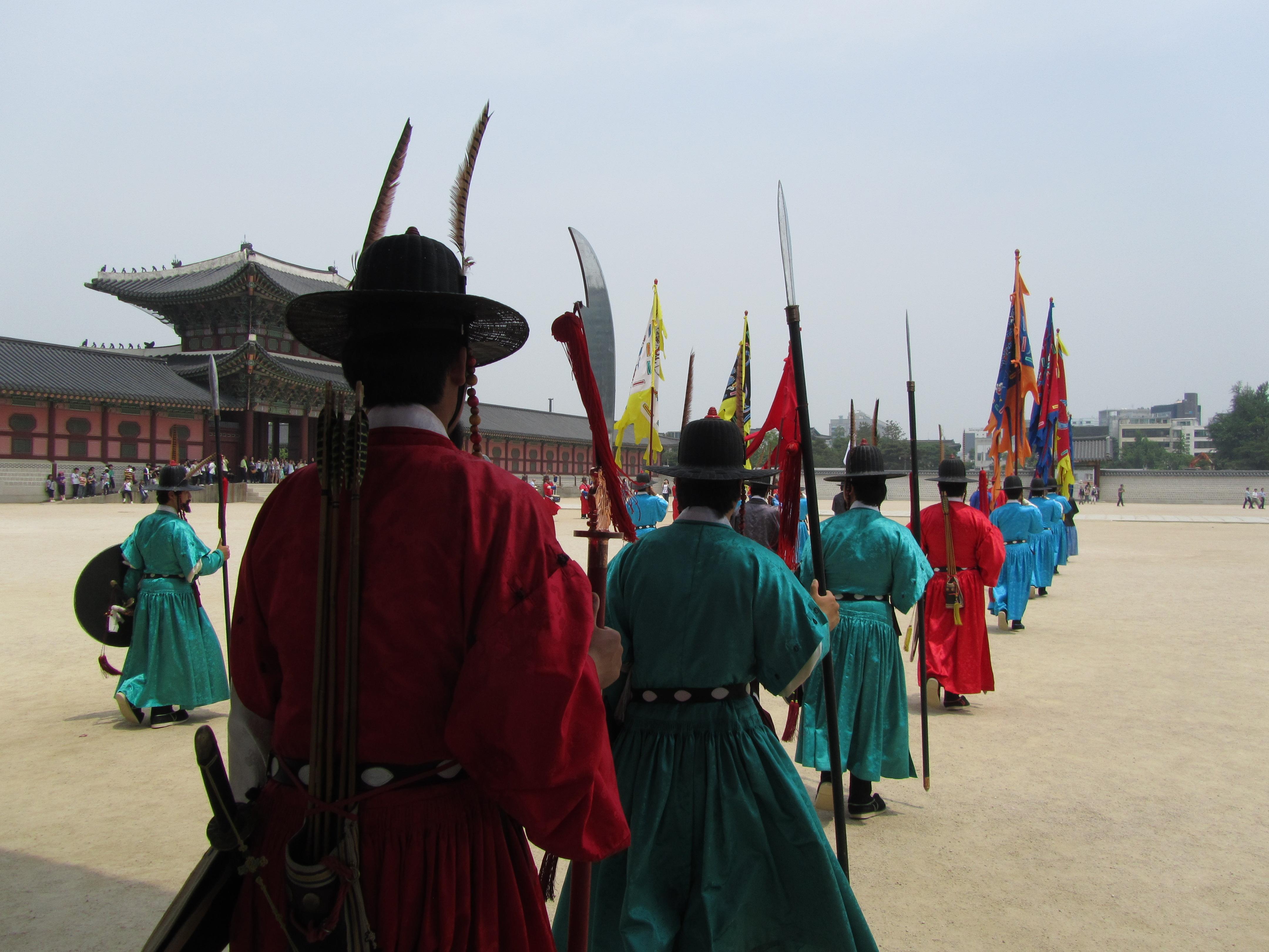 ארמון Gyeongbokgung