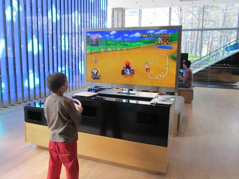 מרכז המבקרים של חברת Samsung